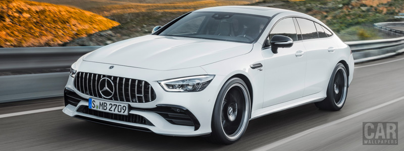 Cars wallpapers Mercedes-AMG GT 53 4MATIC+ 4-Door Coupe - 2018 - Car wallpapers
