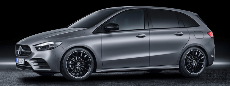 Cars wallpapers Mercedes-Benz B-class AMG Line - 2019 - Car wallpapers