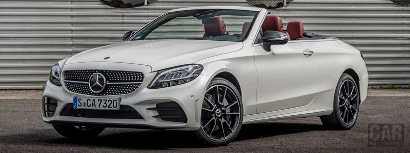 Cars wallpapers Mercedes-Benz C 300 Cabriolet AMG Line - 2018 - Car wallpapers