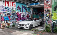 Cars wallpapers Mercedes-Benz C 300 Cabriolet AMG Line - 2018