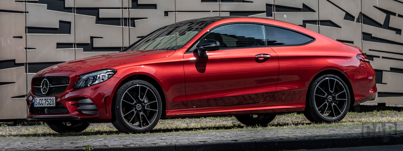 Cars wallpapers Mercedes-Benz C 400 4MATIC Coupe AMG Line - 2018 - Car wallpapers