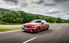 Cars wallpapers Mercedes-Benz C 400 4MATIC Coupe AMG Line - 2018