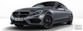 Mercedes-AMG C 43 4MATIC Coupe Night Edition - 2017