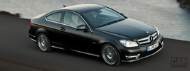 Mercedes-Benz C-Class Coupe C250 CDI - 2011