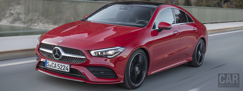 Cars wallpapers Mercedes-Benz CLA 250 4MATIC AMG Line - 2019 - Car wallpapers