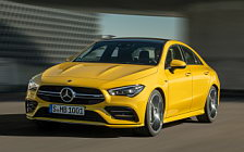 Cars wallpapers Mercedes-AMG CLA 35 4MATIC - 2019