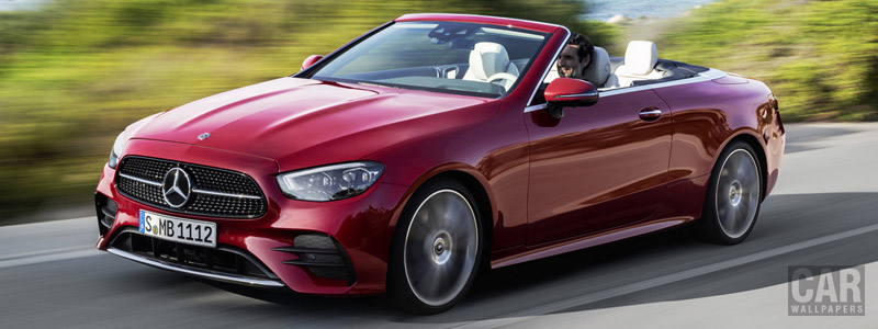Cars wallpapers Mercedes-Benz E 450 4MATIC AMG Line Cabriolet - 2020 - Car wallpapers