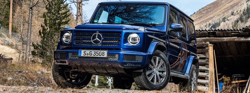 Cars wallpapers Mercedes-Benz G 350 d - 2019 - Car wallpapers