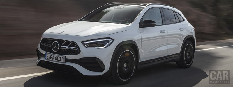 Cars wallpapers Mercedes-Benz GLA 250 4MATIC AMG Line - 2020 - Car wallpapers