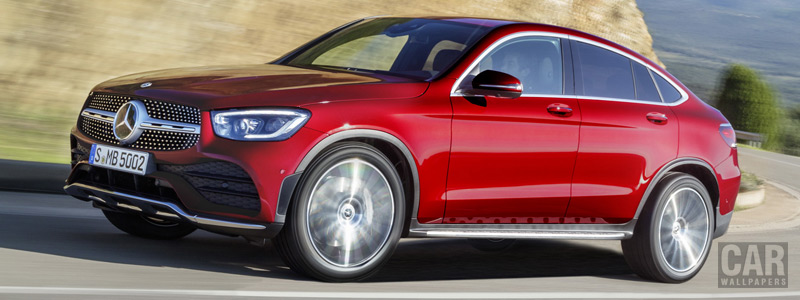 Cars wallpapers Mercedes-Benz GLC 300 4MATIC Coupe AMG Line - 2019 - Car wallpapers
