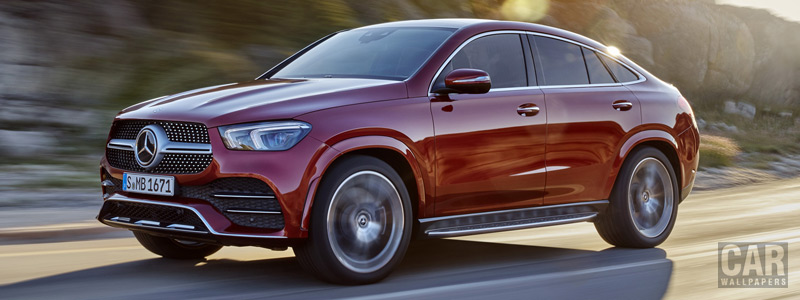 Cars wallpapers Mercedes-Benz GLE 400 d 4MATIC AMG Line Coupe - 2019 - Car wallpapers