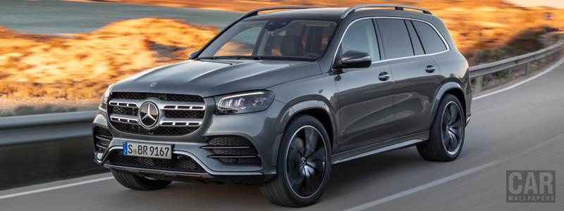 Cars wallpapers Mercedes-Benz GLS 580 4MATIC AMG Line - 2019 - Car wallpapers