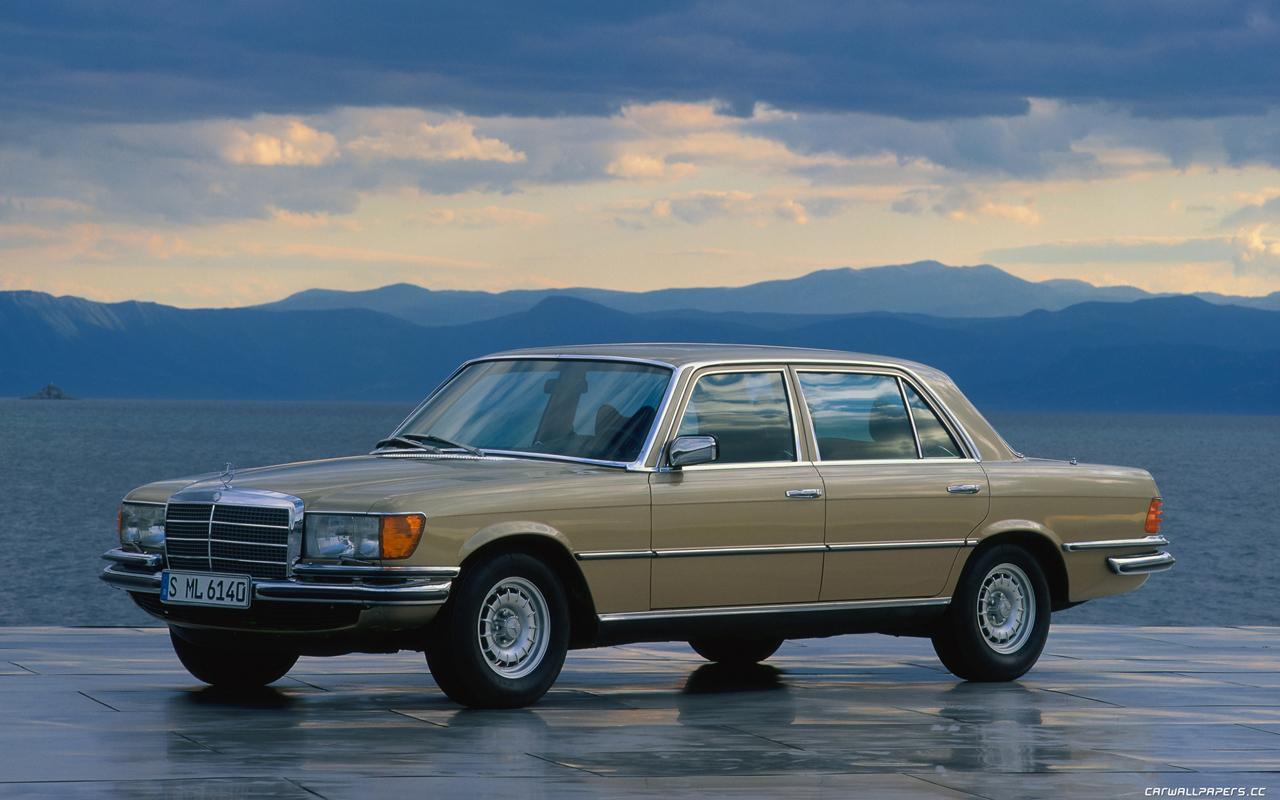Cars desktop wallpapers Mercedes-Benz 450 SEL 6.9 W116 - 1980