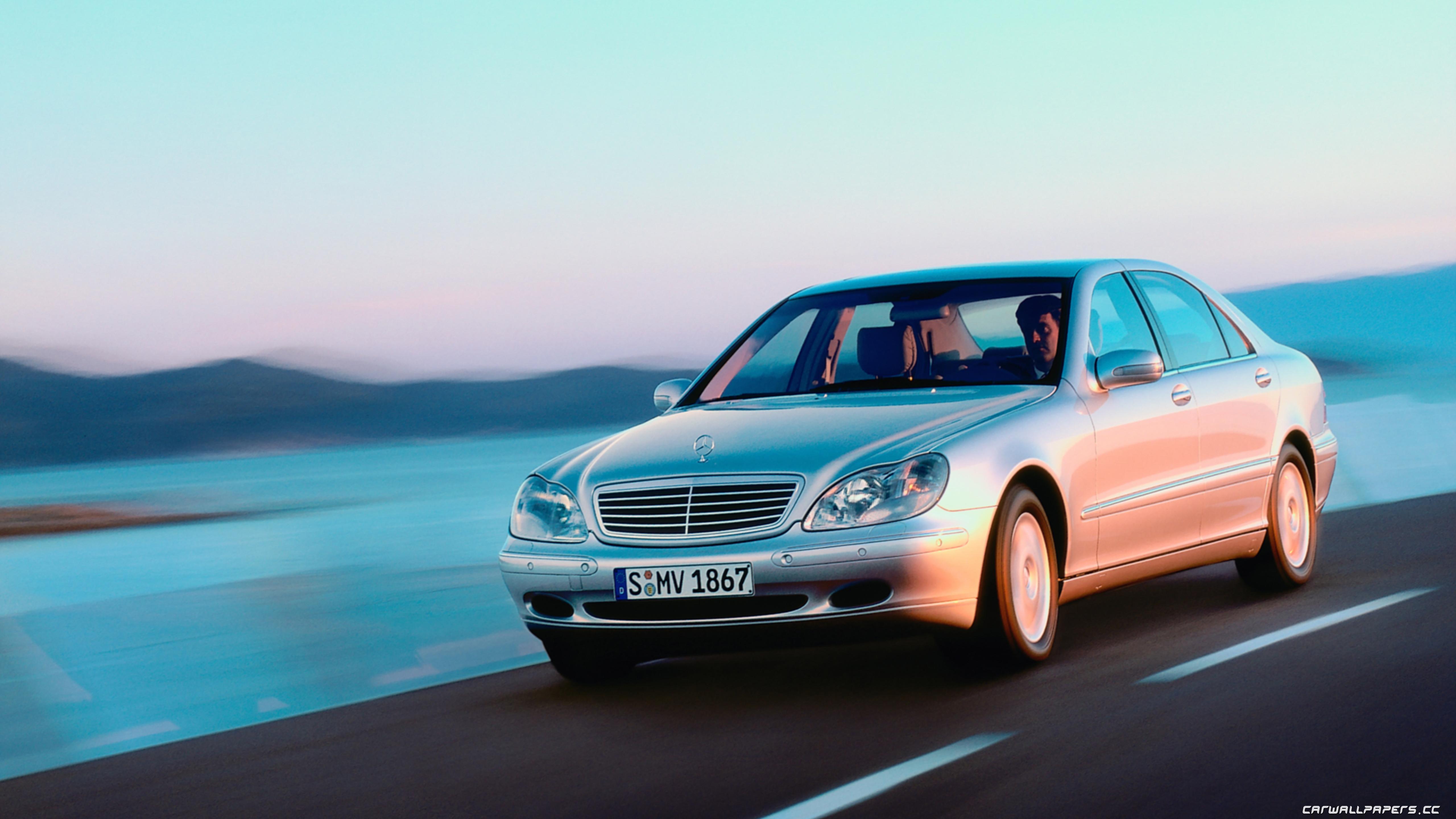 Cars desktop wallpapers Mercedes-Benz S500 L W220 - 1998