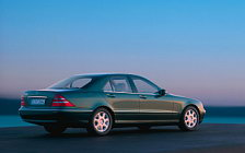 Cars wallpapers Mercedes-Benz S500 W220 - 1998