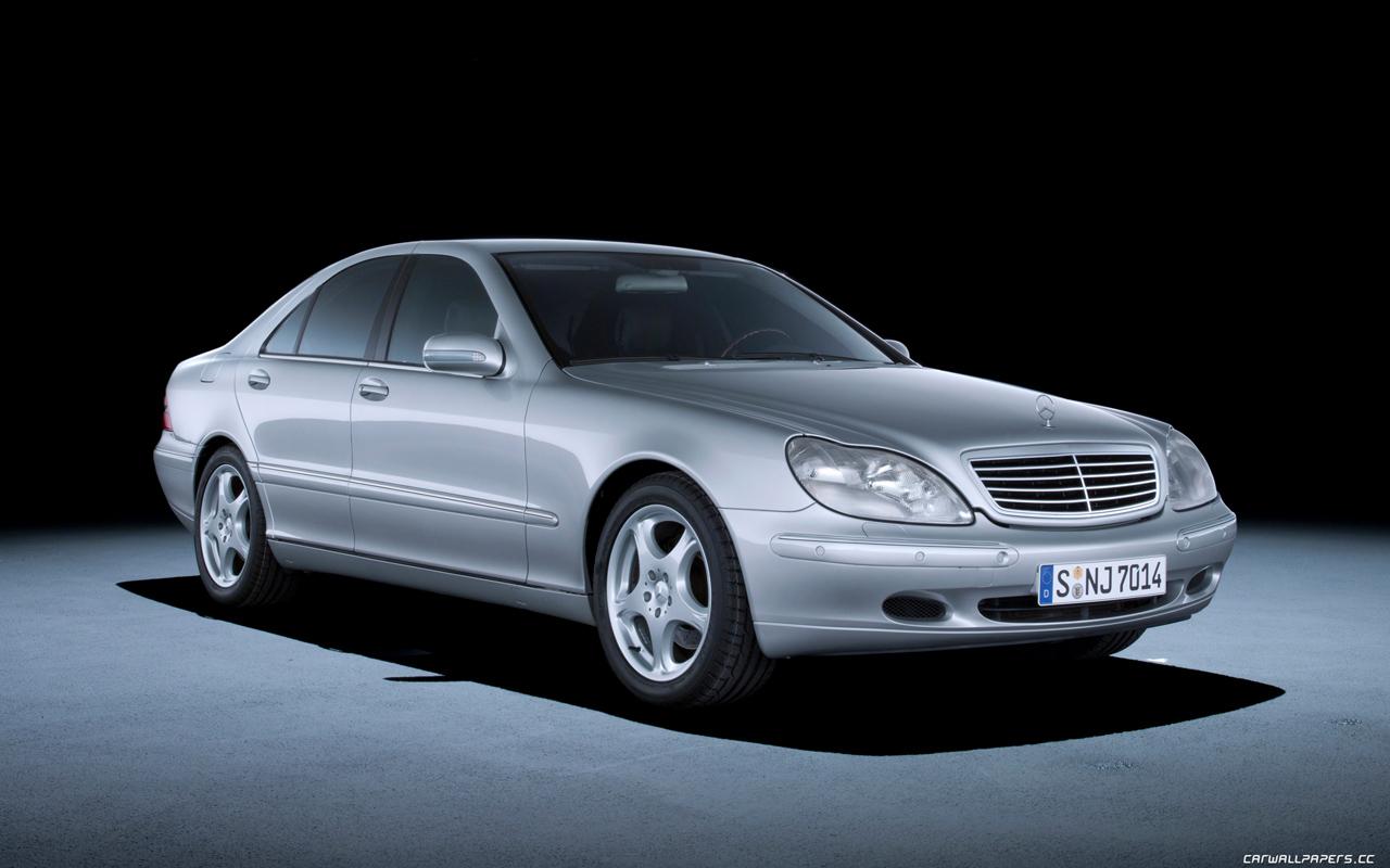 Cars desktop wallpapers Mercedes-Benz S400 CDI W220 - 1999