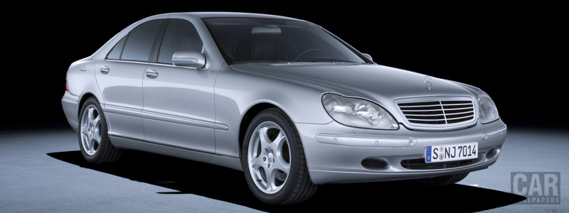 Cars wallpapers Mercedes-Benz S400 CDI W220 - 1999 - Car wallpapers
