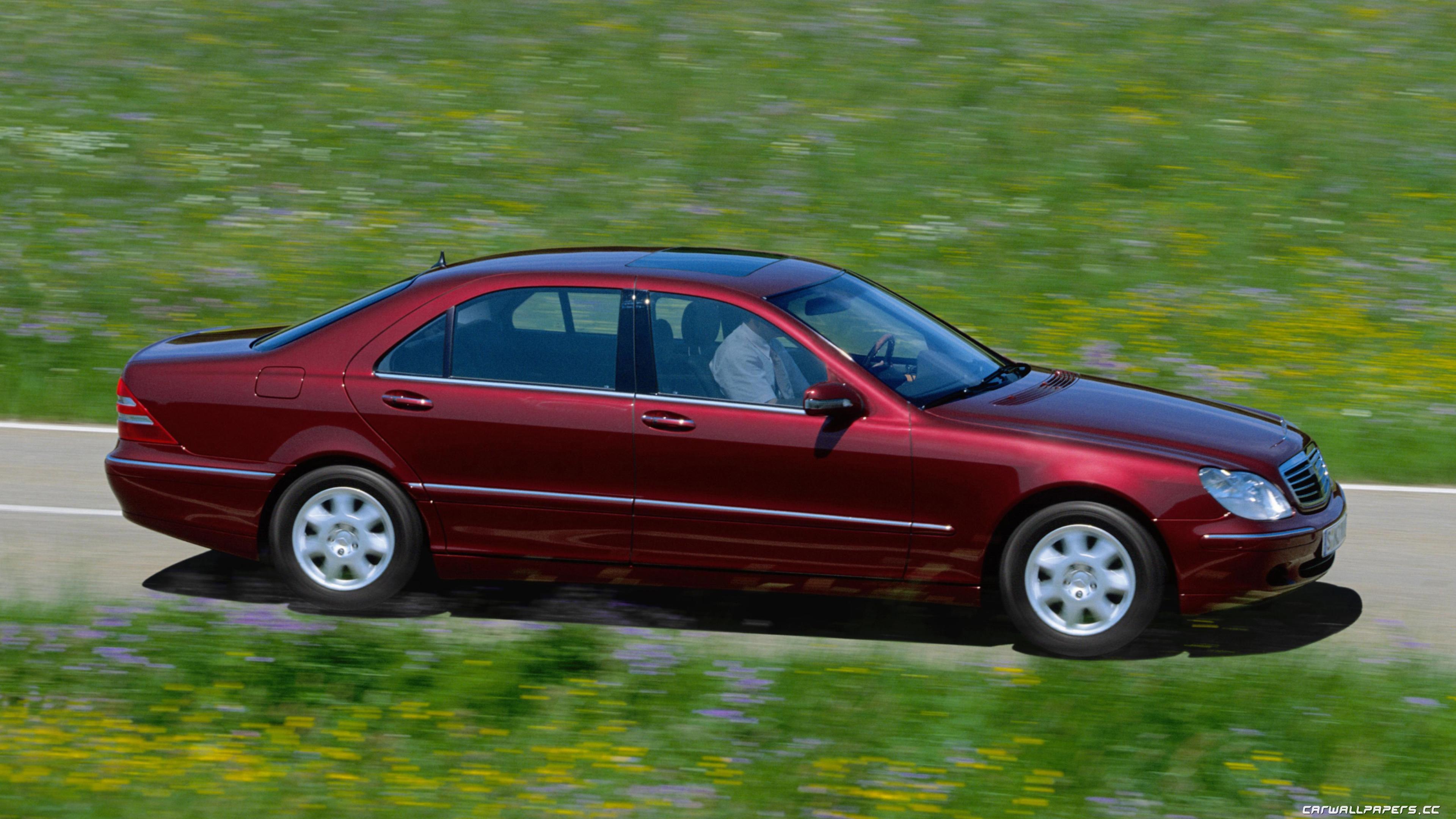 Cars desktop wallpapers Mercedes-Benz S400 L CDI W220 - 1999