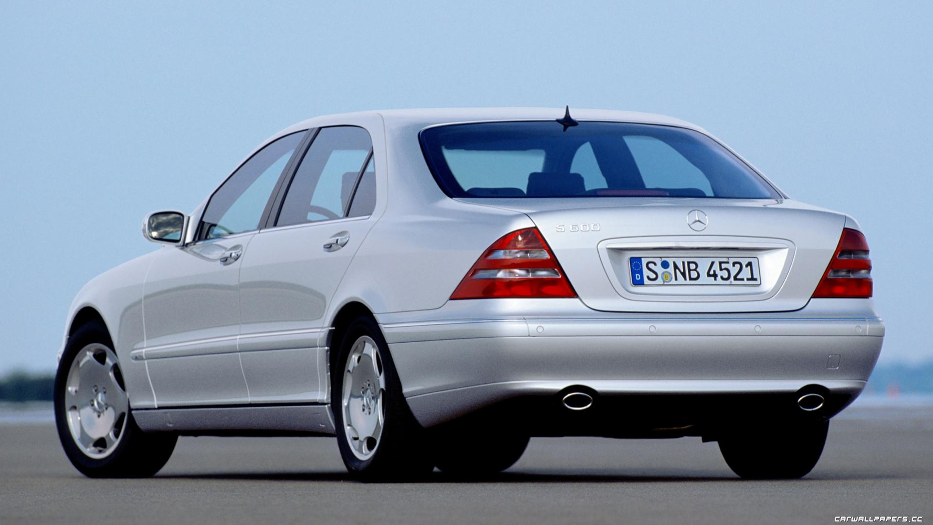 Cars desktop wallpapers Mercedes-Benz S600 W220 - 1999
