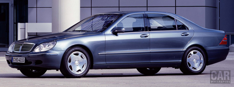 Cars wallpapers Mercedes-Benz S600 W220 - 1999 - Car wallpapers