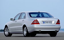 Cars wallpapers Mercedes-Benz S600 W220 - 1999