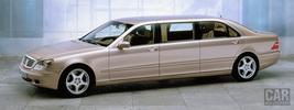 Mercedes-Benz S-class Pullman w220 - 2000